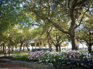 White Point Gardens in Charleston